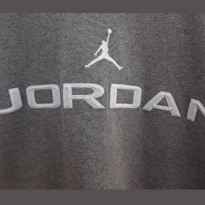 8c817ffc65e6 Jordan Shirts - Air Jordan Shirt Size Medium Cool Gray Long Sleeve